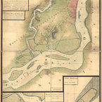 Survey of Philadelphia and Its Environs, 1777