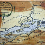 Draft of the River Delaware from Chester to Philadelphia, 1778