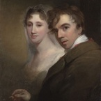 Self-Portrait of the Artist Painting His Wife, c.1810