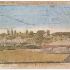 Plate III. The Engagement at the North Bridge in Concord, 1775