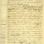 "Declaration of Independence, ""Rough Draft"" - pg. 1"