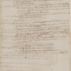 Draft Page from a Constitution for Virginia, 1776