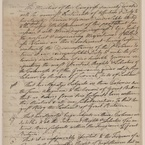 Declaration of Rights, 1765 - pg. 1