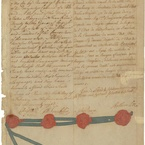 Treaty of Alliance with France, 1778 - Last Page