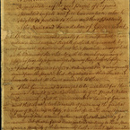 Virginia Declaration of Rights, 1776 - pg. 1