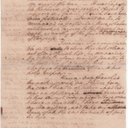Resignation to Congress, 1783 - side 2