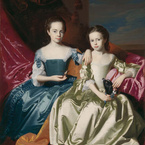 Mary and Elizabeth Royall, c. 1758