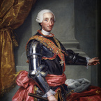 King Charles III by Anton Raphael Mengs, 1761