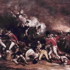 The Death of General Mercer at the Battle of Princeton, 3 January 1777; 1831