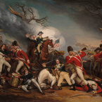 The Death of General Mercer at the Battle of Princeton, 3 January 1777; c. 1787—1831