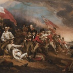 The Death of General Warren at the Battle of Bunker's Hill, 17 June 1775; 1834