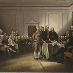 The Declaration of Independence, 4 July 1776; 1832