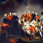 The Burial of General Simon Fraser after the Battle of Saratoga, 1777; 1794