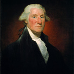 George Washington (The Vaughan Portrait), 1795