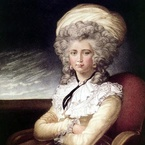 Self-Portrait by Maria Cosway, 1787