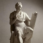 Modello for George Washington, 1818, by Canova