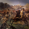 Washington Rallying the Troops at Monmouth, c. 1853
