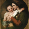 Mrs. Benjamin West and Her Son Raphael, c. 1767