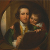 The Artist and His Son Raphael, 1773