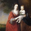 Mrs. John Dickinson and Her Daughter, 1772